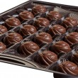 Candies in the box — Stock Photo