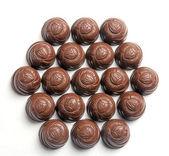 Candy hexagon — Stock Photo