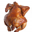 Isolated roasted hen — Stock Photo #2434070