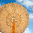 Tropical sunshade — Stock Photo