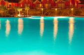 Pool night view — Stock Photo