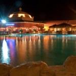 Restaurant night view — Stock Photo