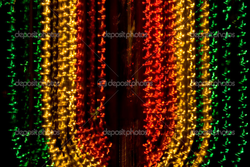 Texture series: christmas background, lights of city — Stock Photo #1228337