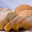 Fresh-baked bread, — 图库照片