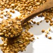 Yellow peas - Stock Photo