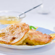 Thick pancakes — Foto Stock