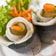 Filet of herring — Foto Stock