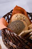 Luncheon-basket — Stock Photo
