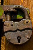 Fechamento de porta — Foto Stock