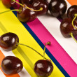 Ripe cherries — Stock Photo #1247484