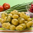 Stock Photo: New potatoes