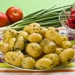 New potatoes — Stock Photo
