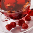 Постер, плакат: Tea with raspberry