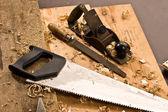 Timmerlieden gereedschap — Stockfoto