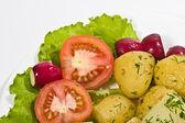 Gotowane ziemniaki — Zdjęcie stockowe