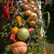 Vegetable decoration — Stock Photo