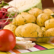 New potatoes — Stock Photo