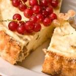 torta di formaggio — Foto Stock