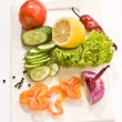 Stock Photo: Vegetarian diet
