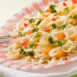 Cooked pasta — Stock Photo