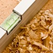Carpenter's level — Stockfoto