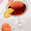 Cocktail with cherry — Stock Photo #1282129