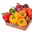 Vegetable`s basket — Foto Stock