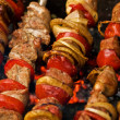Stock Photo: Shashlik (kebab)