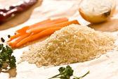 Raw rice — Stock Photo