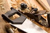 ξυλουργοί εργαλείο — Φωτογραφία Αρχείου