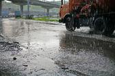 雨 — 图库照片