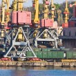 Stock Photo: Freight Port