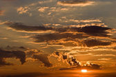 City sunset — Stock Photo