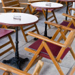 Open-air cafe — Stock Photo