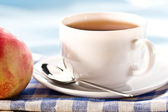 Morning tea (with soft-filter) — Stockfoto