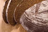черный хлеб — Стоковое фото