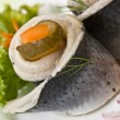Filet of herring — Stock Photo