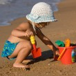 Playing with sand — Stock Photo #1322520
