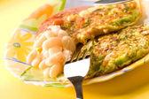 Vegetariánské jídlo — Stock fotografie
