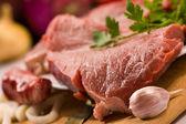 świeże mięso — Zdjęcie stockowe