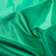 Green fabric — Stock Photo