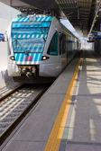 Railway platform — Stock Photo
