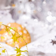 Golden Christmas stars — Stock Photo #1365280