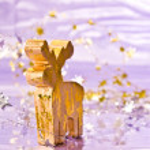 veado de Natal — Foto Stock