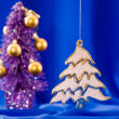 Foto Stock: Christmas fir