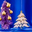 Abeto de Navidad — Foto de Stock