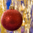 Christmas ball — Stockfoto