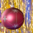 Christmas ball — Stock Photo