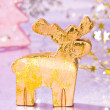 Golden deer — Foto Stock