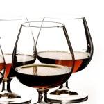 Glasses of cognac — Stock Photo #1389007